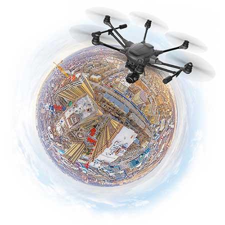 3D панорамы с воздуха