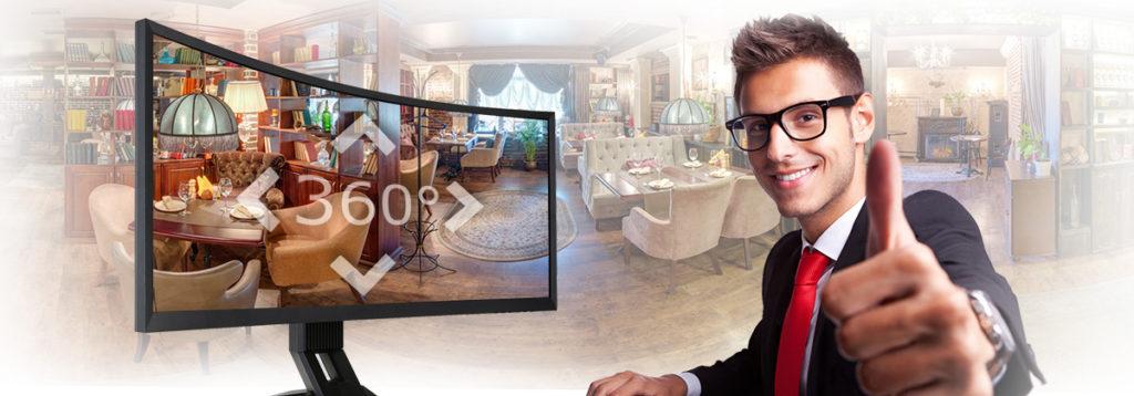 съемкам виртуальных туров и 3D панорам